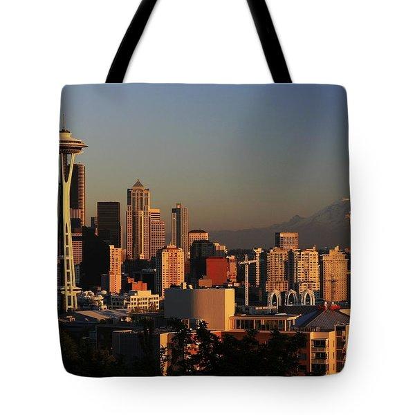 Seattle Equinox Tote Bag