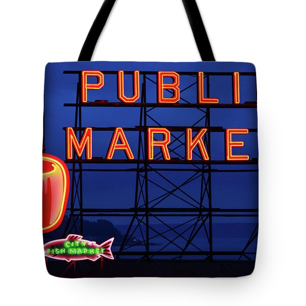 Seattle Glow Tote Bag