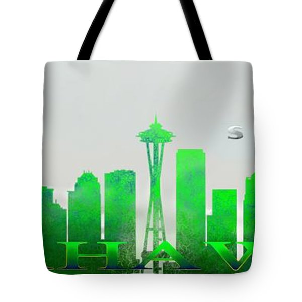 Seattle Greens Tote Bag