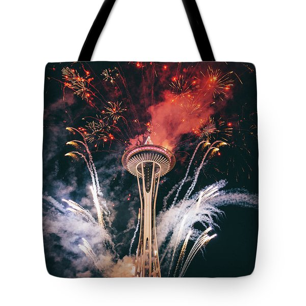 Seattle Tote Bag by Happy Home Artistry