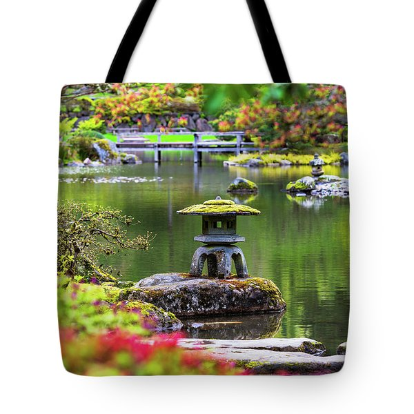 Seattle Japanese Garden Tote Bag