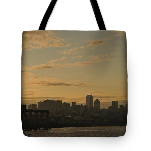 Seattle Morning Tote Bag