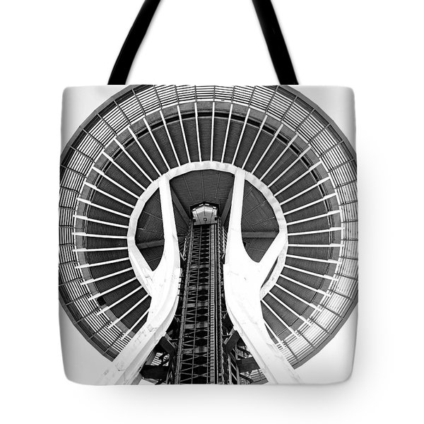 Seattle Needle Tote Bag