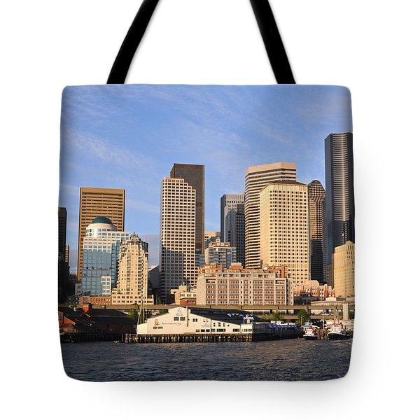 Seattle Pier 54 Tote Bag