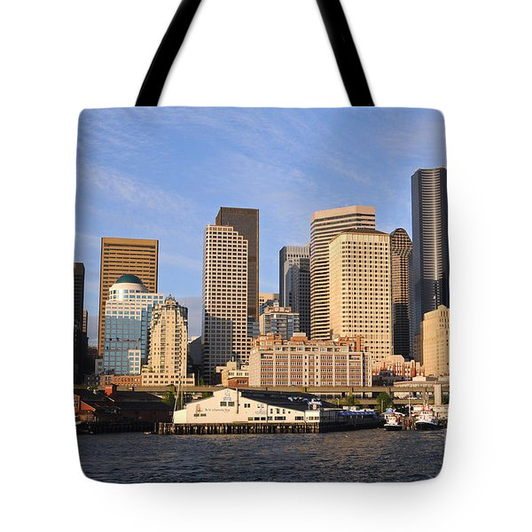 Seattle Pier 54 Tote Bag