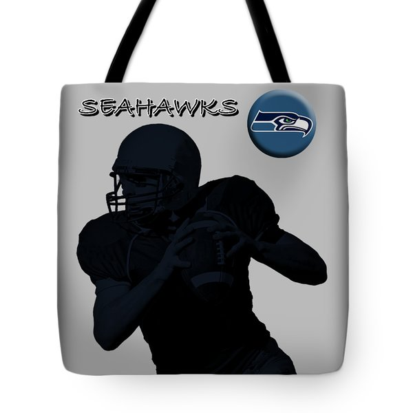 Seattle Seahawks Football Tote Bag