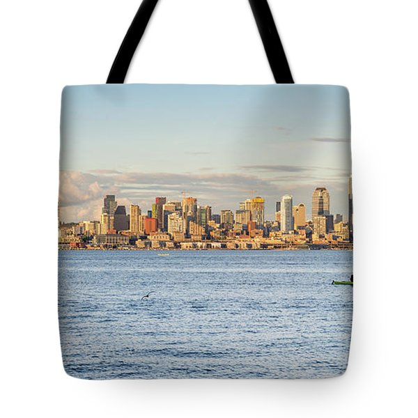 Seattle Skyline 2 Tote Bag