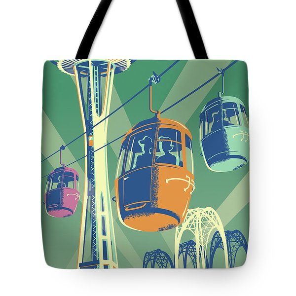 Seattle Space Needle 1962 - Alternate Tote Bag