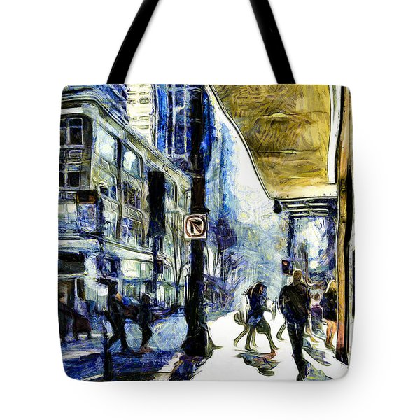 Seattle Streets #2 Tote Bag