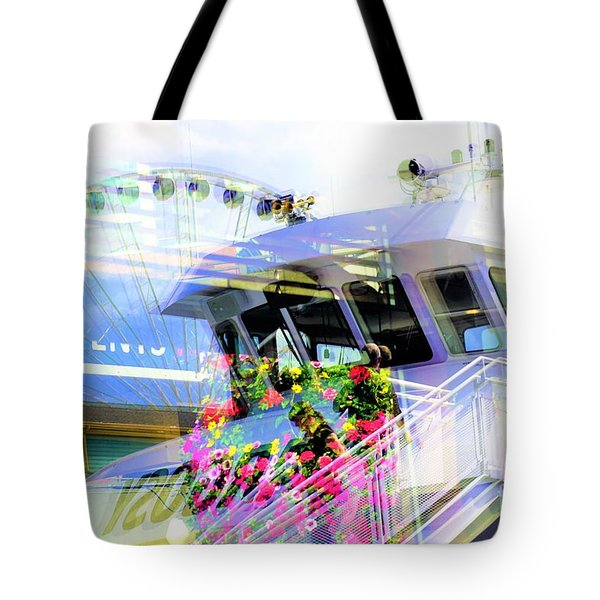 Seattle Washington 3 Tote Bag