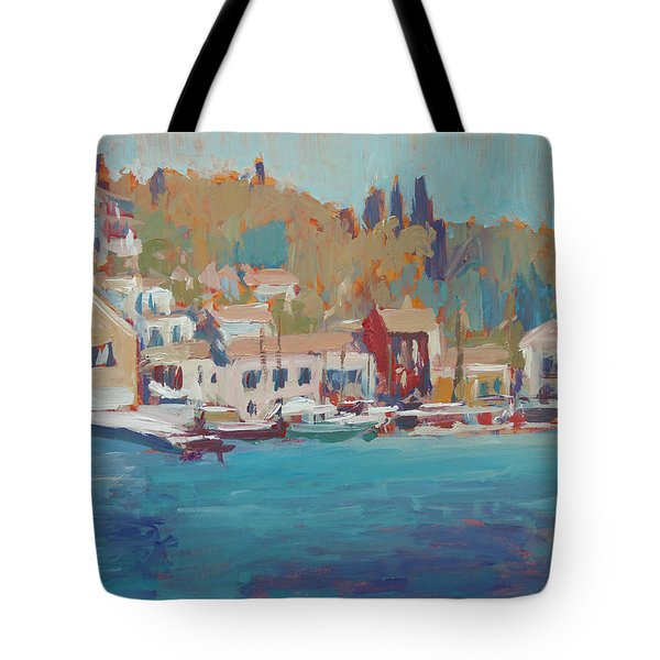 Seaview Lggos Paxos Tote Bag