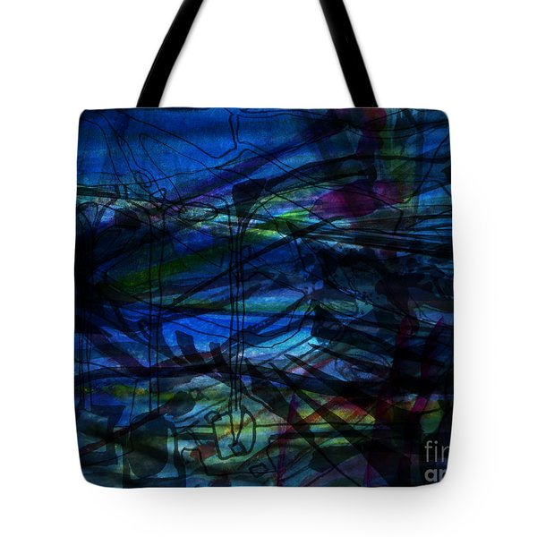 Seaweed And Other Creatures Tote Bag