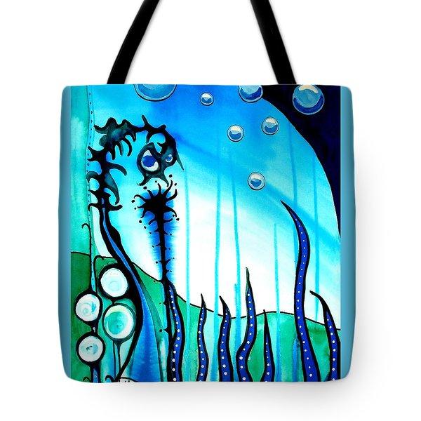 Seaweed - Art By Dora Hathazi Mendes Tote Bag by Dora Hathazi Mendes