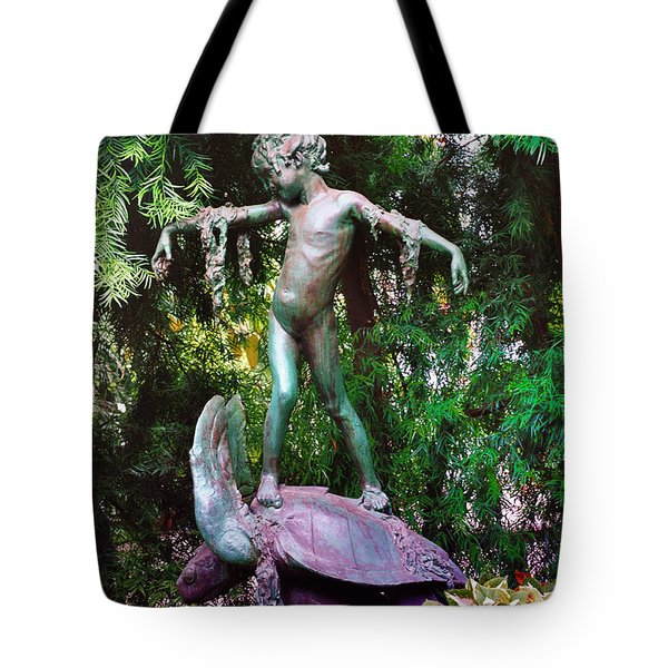 Seaweed Girl Tote Bag by Bill Cannon