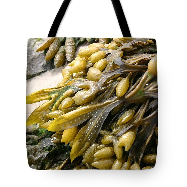 Seaweed Tote Bag by Mary Haber