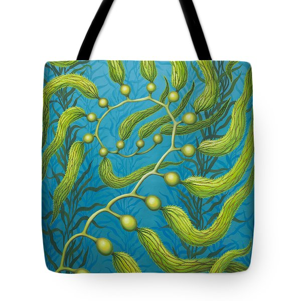 Seaweed Spiral Tote Bag