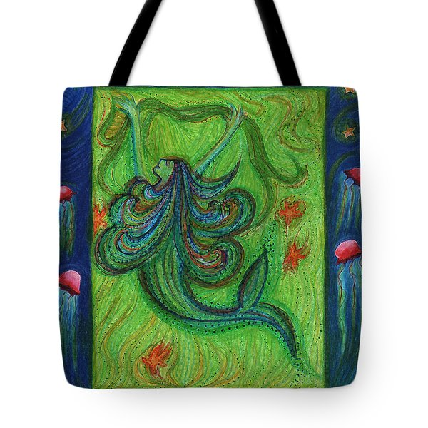 Seaweed Streamers By Jrr Tote Bag