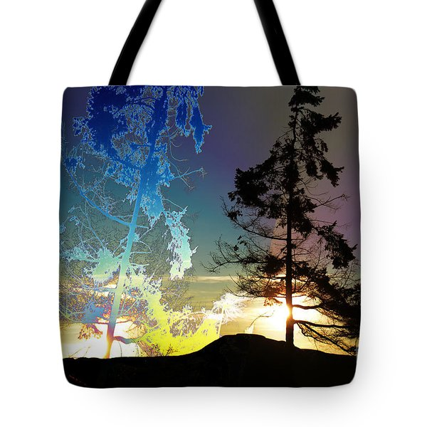Sechelt Tree 2 Tote Bag