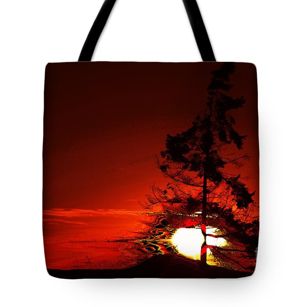 Sechelt Tree 3 Tote Bag