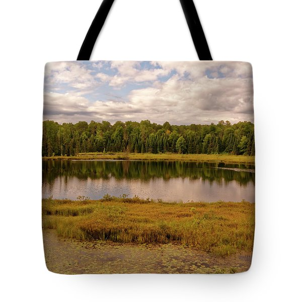 Secluded Lake Tote Bag