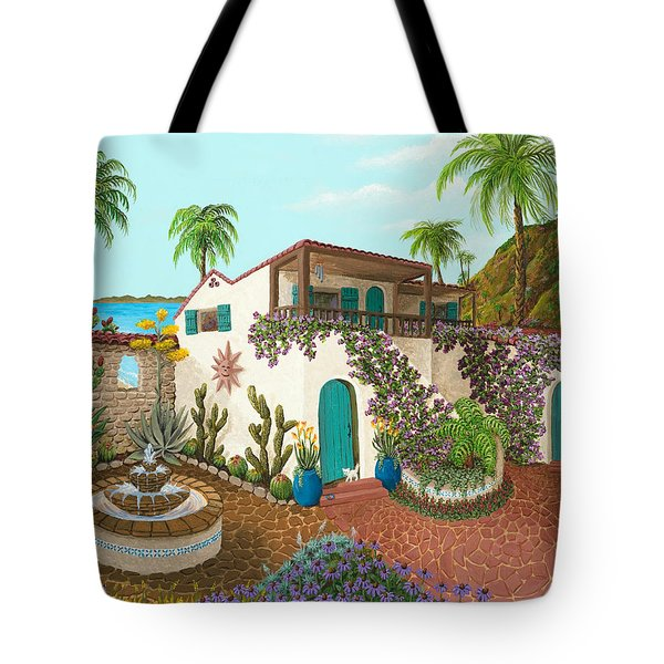 Secluded Paradise Tote Bag by Katherine Young-Beck