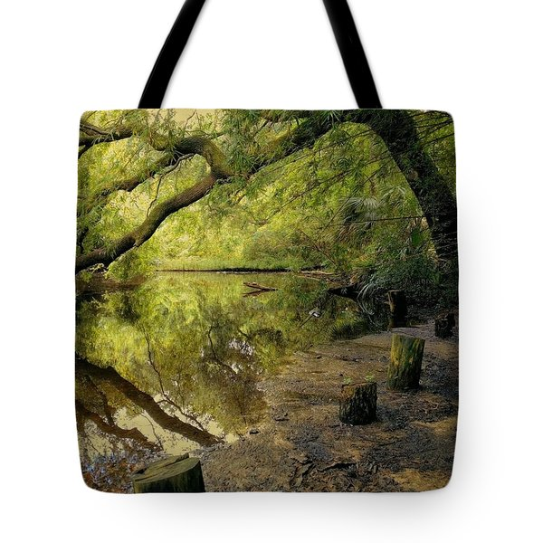 Secluded Sanctuary Tote Bag