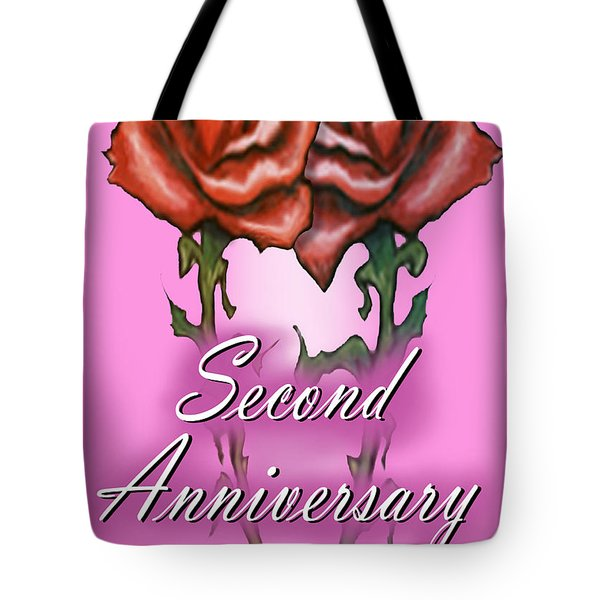 Second Anniversary Tote Bag