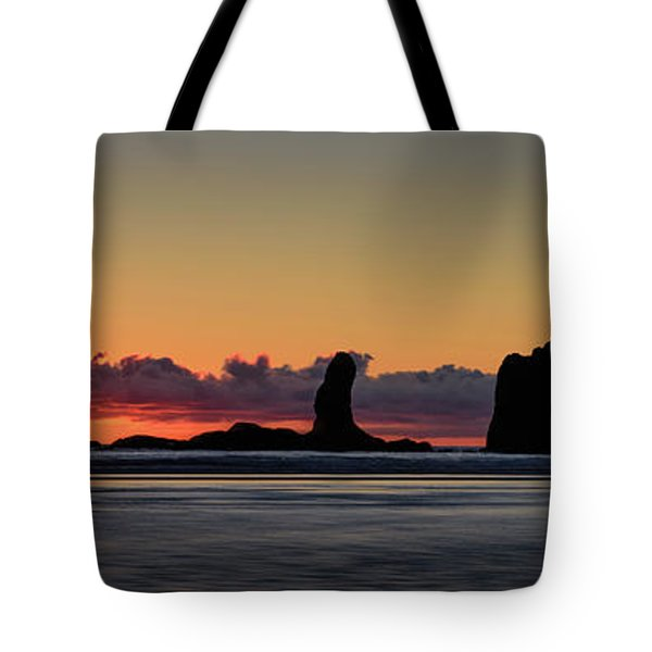 Second Beach Silhouettes Tote Bag