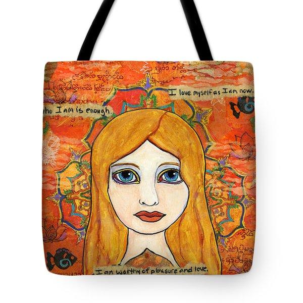 Second Chakra Tote Bag
