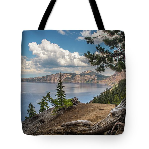 Second Crater View Tote Bag