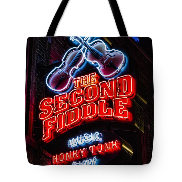 Second Fiddle Tote Bag