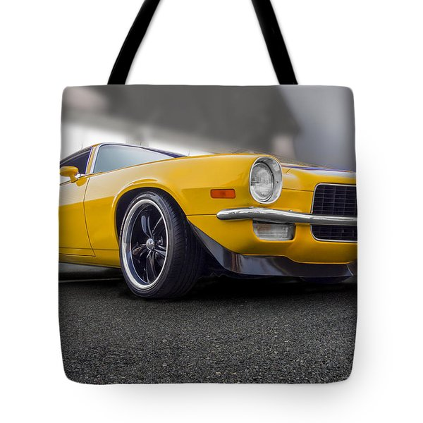 Second Gen Camaro Tote Bag by Gary Warnimont