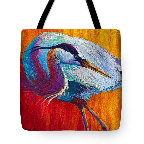 Second Glance - Great Blue Heron Tote Bag