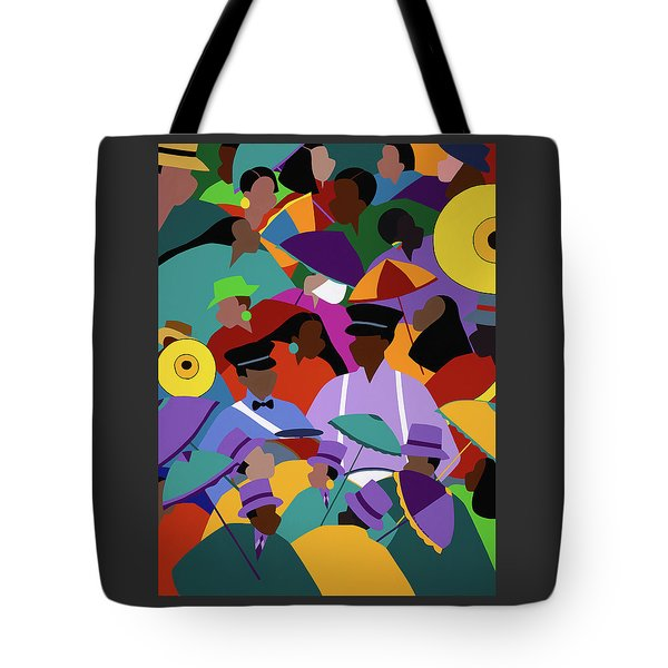 Second Line New Orleans Tote Bag