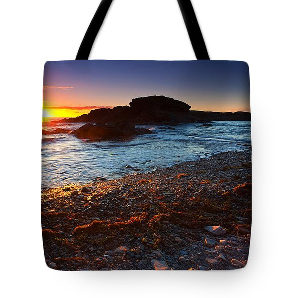 Second Valley Sunset Tote Bag