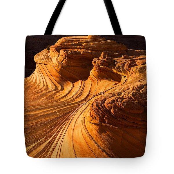 Second Wave Tote Bag by Dustin  LeFevre