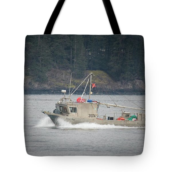 Tote Bag featuring the photograph Second Wind by Randy Hall