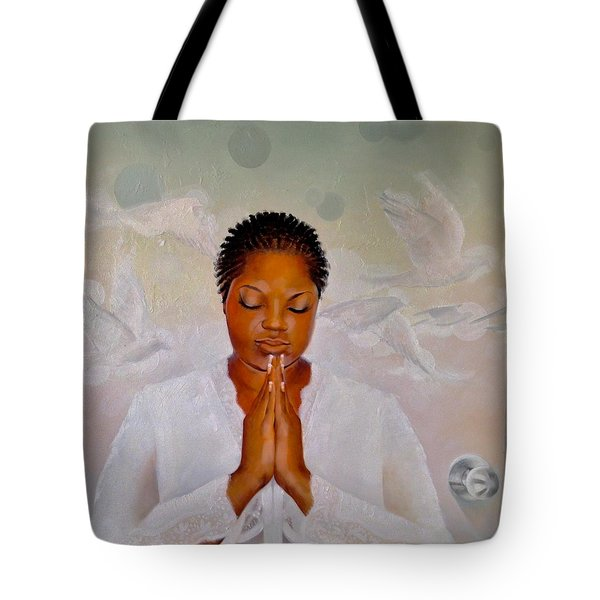 Tote Bag featuring the painting Secret Closet by Christopher Marion Thomas