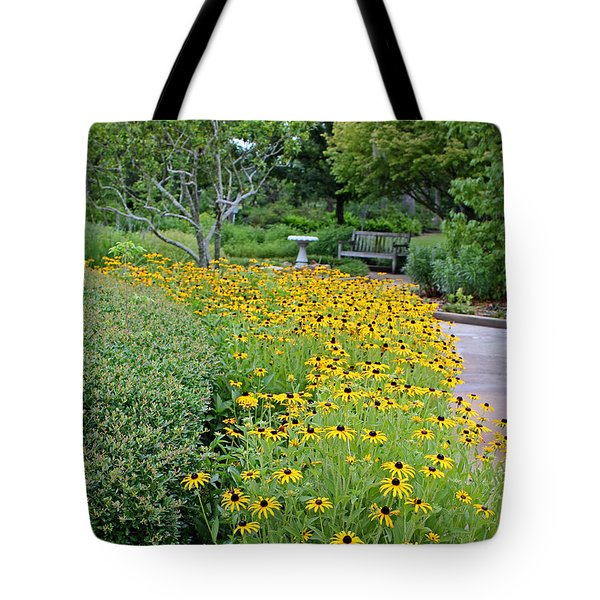 Tote Bag featuring the photograph Secret Garden by Judy Vincent