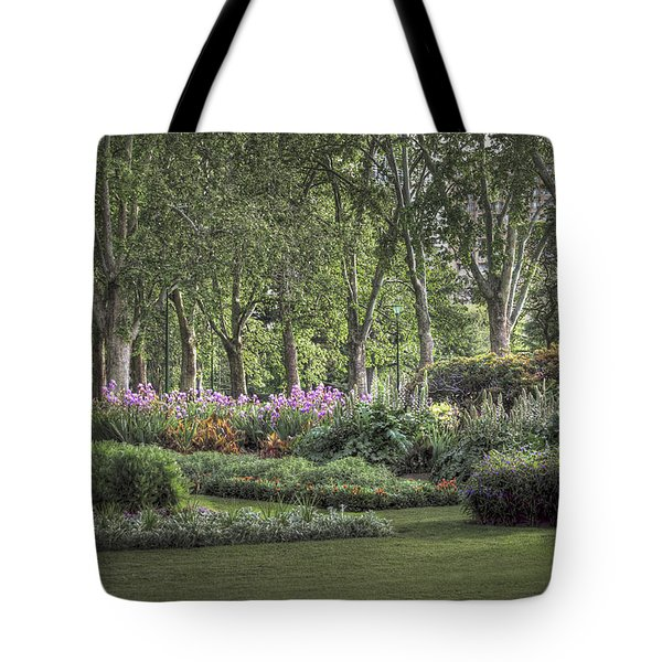 Tote Bag featuring the photograph Secret Garden by Ray Warren