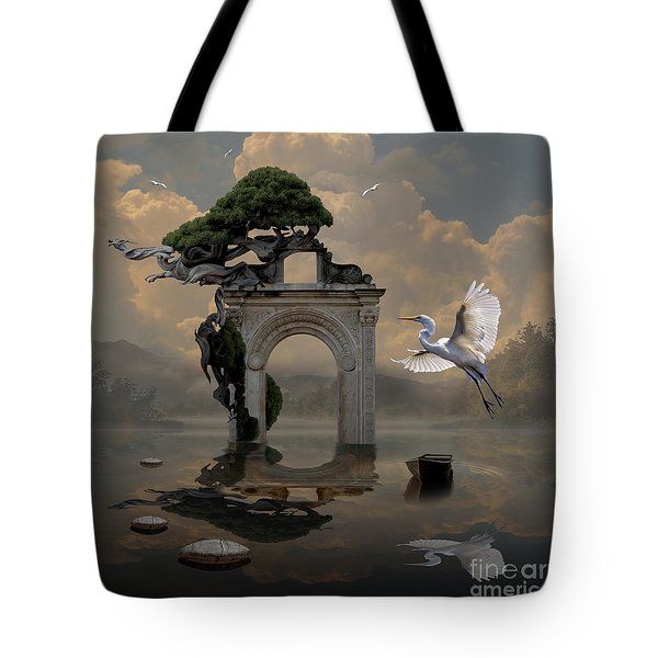 Secret Gate Tote Bag