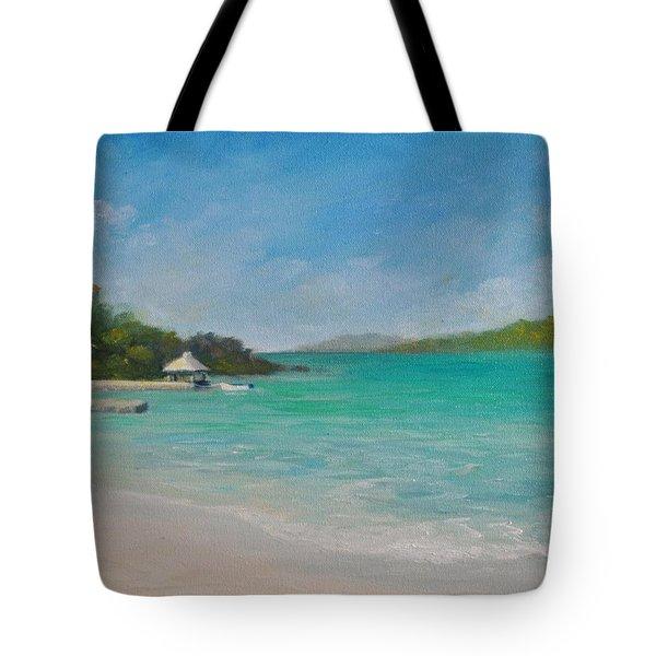 Secret Harbor Tote Bag