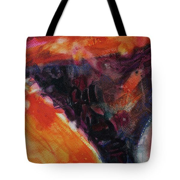 Tote Bag featuring the painting Secret Hideaway by Kathy Braud