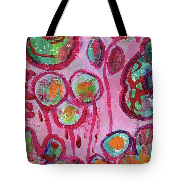 Secret Life Of Flowers Tote Bag