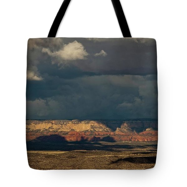 Secret Mountain Wilderness Storm Tote Bag