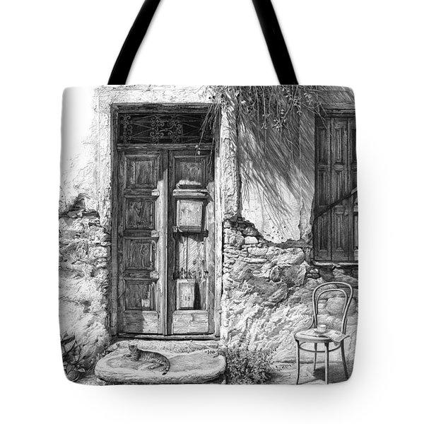 Secret Of The Closed Doors Tote Bag
