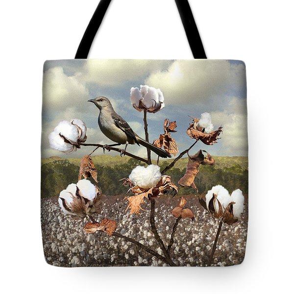 Secret Of The Mockingbird Tote Bag