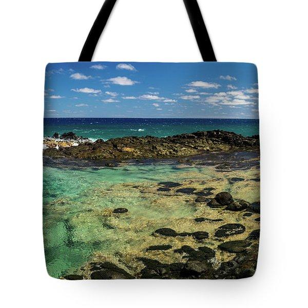 Secret Tidal Pool Tote Bag