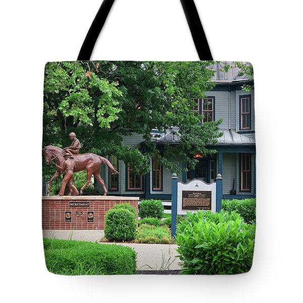 Secretariat Statue At The Kentucky Horse Park Tote Bag