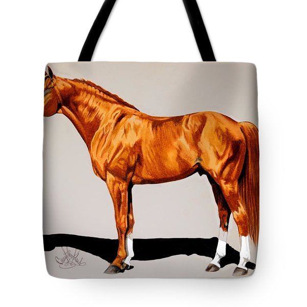 Secretariat - Triple Crown Winner By 31 Lengths Tote Bag